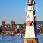Kavringen Lighthouse, Islet, Time Capsule, Oslofjord, eyegem, sightseeing, seabirds, oslo, st halvard